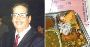 Vishindas Wadha owner of Gurkripa samosas at sion